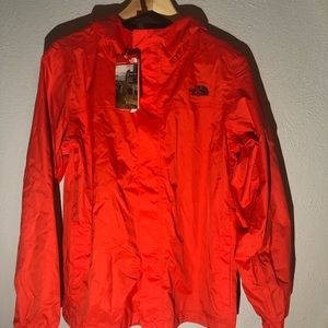 BRAND NEW! North Face Orange Youth XL Windbreaker